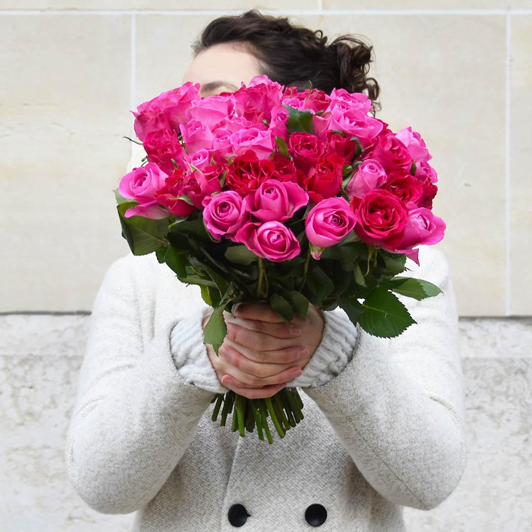 Cadeau Fête des mères - Bouquet de roses