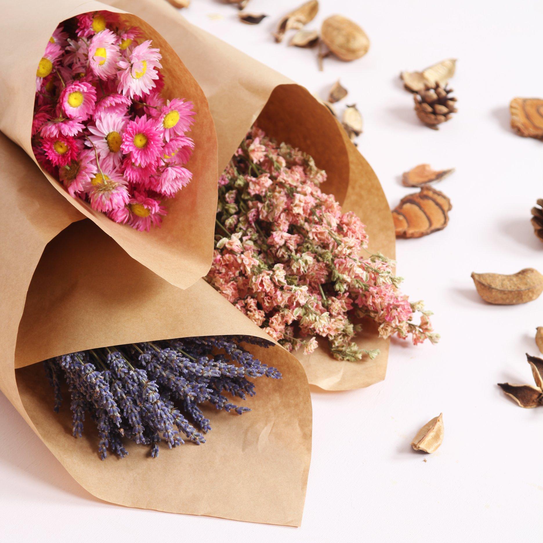 Bottes de fleurs