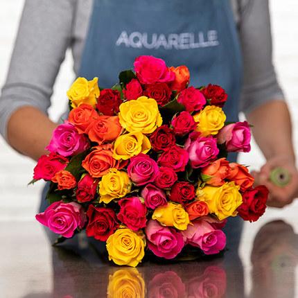 Roses Arlequin